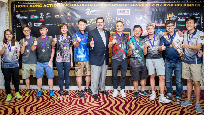 Hong Kong Action Air Handgun Championship Level III 2017